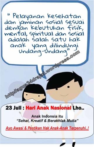hari anak nasional 2012