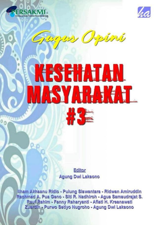 Buku Gugus Opini Kesehatan Masyarakat 3